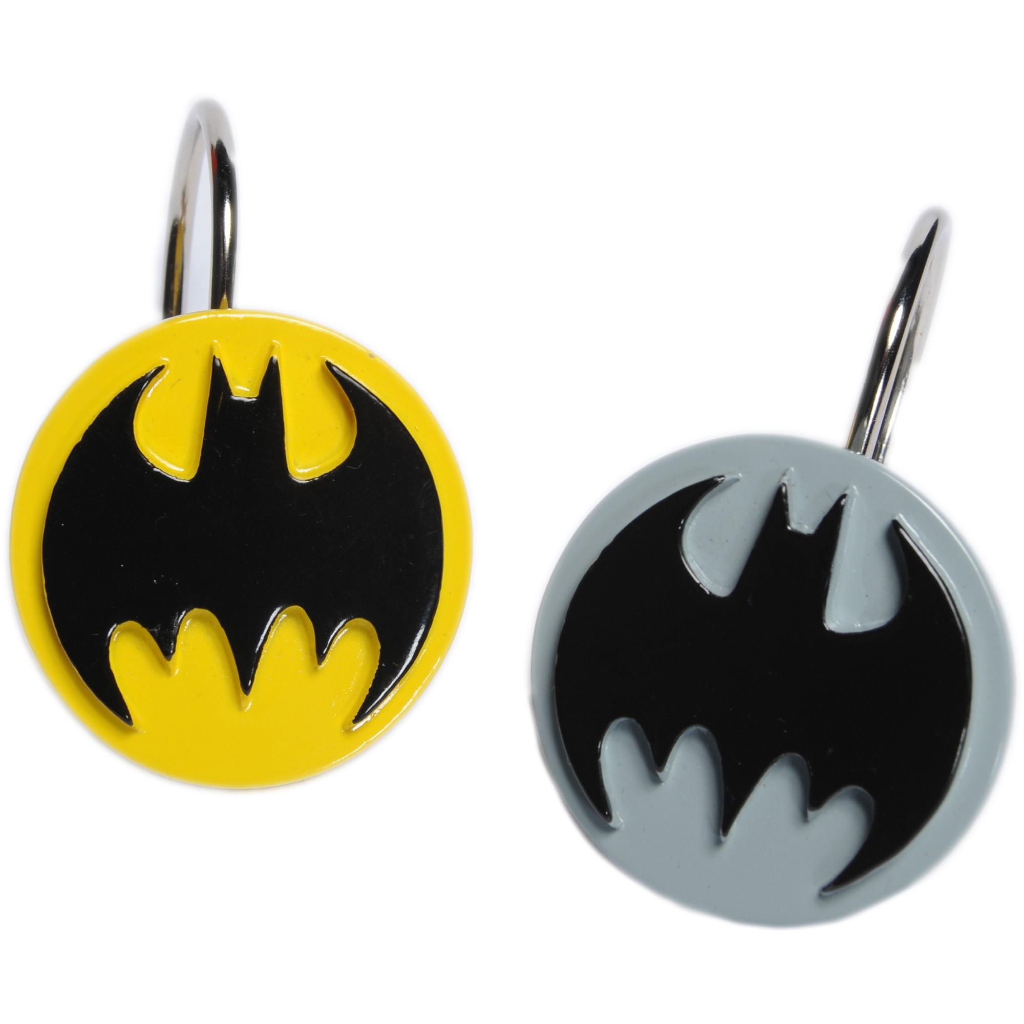 Batman Shower Curtain Hooks 12 ct Pack