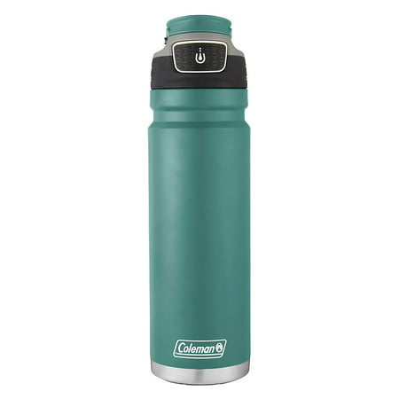 Coleman Autoseal FreeFlow Stainless Steel Insulated Water Bottle, 24 Oz