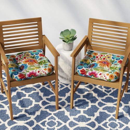 Merveilleux Winston Porter Indoor/Outdoor Rocking Chair Cushion (Set Of 2)