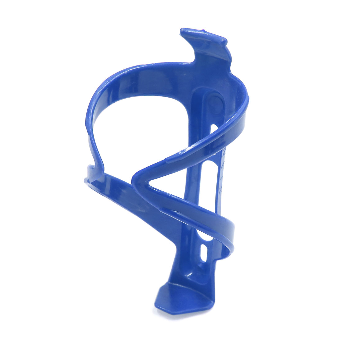 Plastic Bike Bicycle Cycling Outdoor Drink Water Bottle Cup Holder Bracket Blue