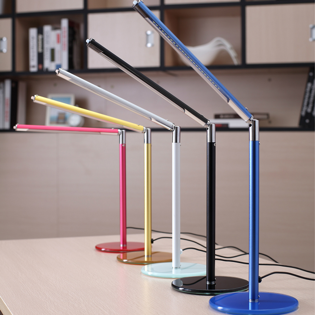 Rotatable SMD Bright LED Table Desk Lamp Study Reading USB Adjustable Light by YKS