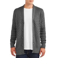 George Mens Cardigan Knit Sweater