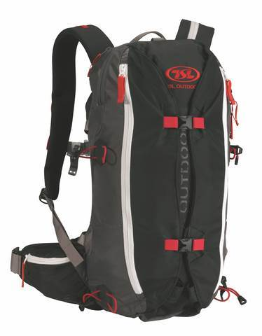 TSL Dragonfly 15 30 Backpack -Color:Black Grey Red by TSL Snowshoes