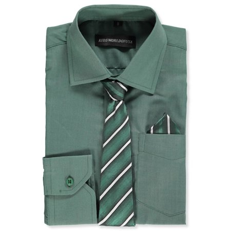 Ivory Boys Dress Shirt (Kids World Boys' Dress Shirt with)