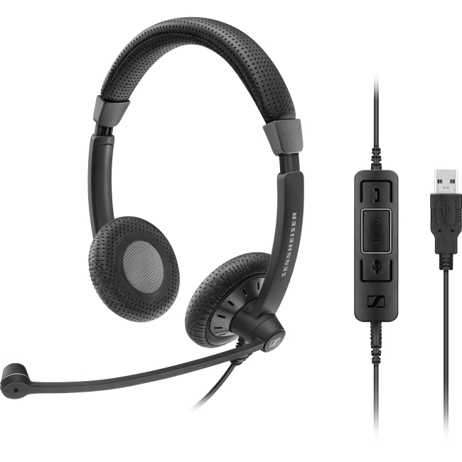 Sennheiser SC 75 USB CTRL Double-Sided Wired Headset