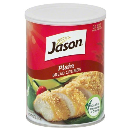 Plain Bread Crumbs - (2 Pack) Jason Bread Crumbs, Plain, 15 Oz