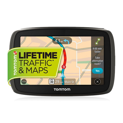 Refurbished TomTom GO 60S 6 Inch Automotive GPS w/ Lifetime Map Updates & Traffic