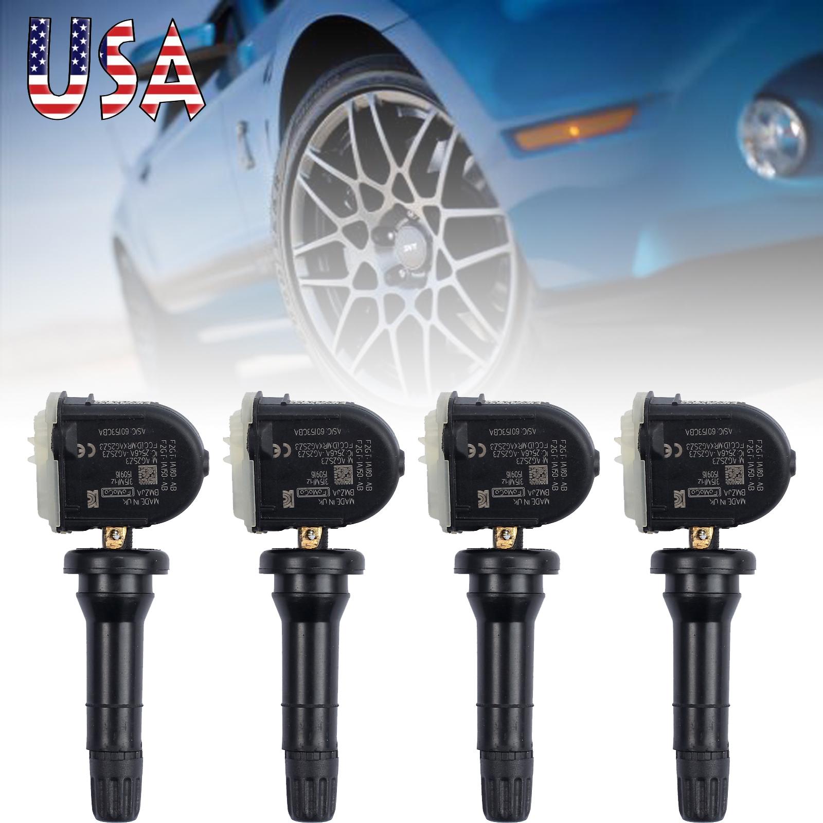 Esynic   Tpms Tire Pressure Monitoring Sensors Ford F  Edge Mustang Explorer Fgtaab Fgtaab Fgtaab Fgtacb Pcs Walmart Com