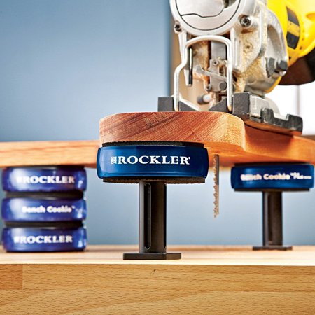 Bench Cookie (Risers XL for Bench Cookie® Plus (2 or 3 Cookie Height), 4-Pack By Rockler Ship from US)