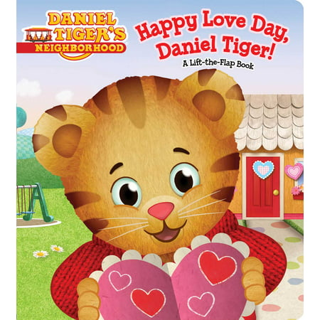 Happy Love Day Daniel Tiger (Board Book) - Daniel Tiger Fabric