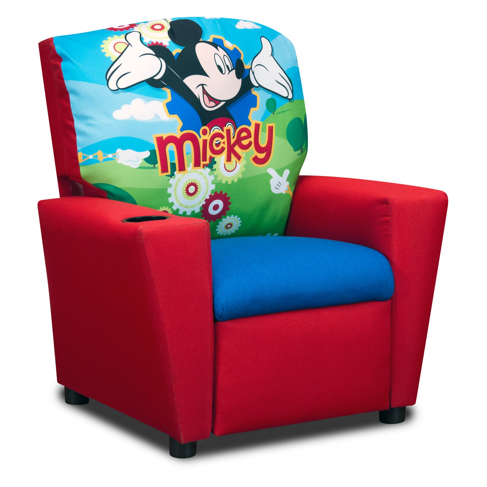 Disneys Mickey Mouse Clubhouse Recliner Walmart – Children Recliner Chairs