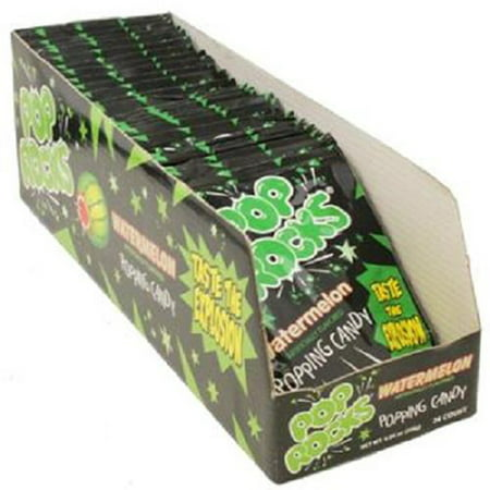 Product Of Pop Rocks, Watermelon, Count 24 (0.33 oz) - Sugar Candy / Grab Varieties & Flavors