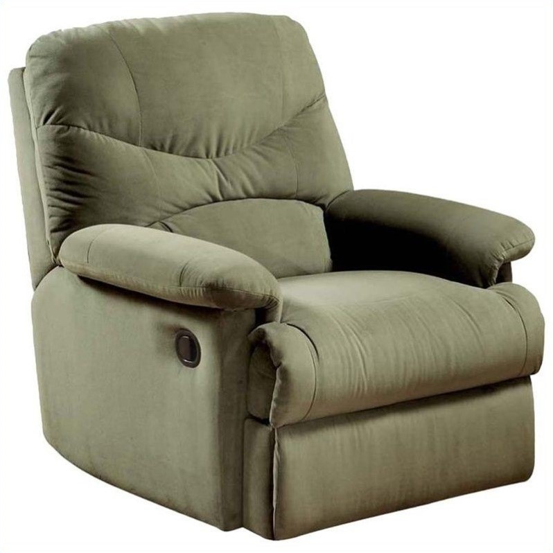 ACME Furniture Arcadia Recliner in Sage by Acme Furniture