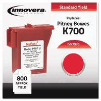 Innovera Compatible 797-0 Postage Meter Ink, Red
