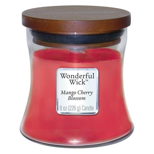 Wonderful Wick 8-oz Spice Jar Candle, Mango Cherry Blossom