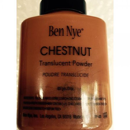Ben Nye Translucent Face Powder - Chestnut 3 - Ben Nye Halloween Makeup