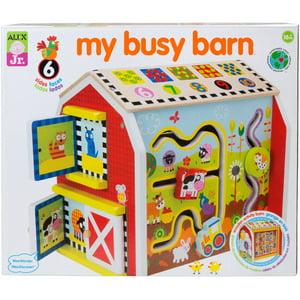 ALEX 1998 My Busy Barn Learning Toy