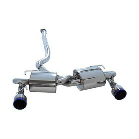 HKS 31029-AF005 HKS Turbo Exhaust 124mm L&R Fits:SUBARU 2009 - 2014 IMPREZA