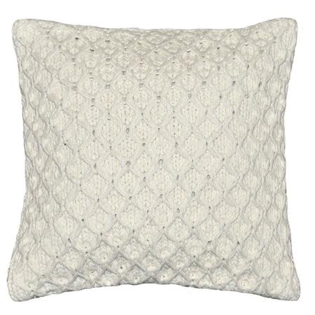 - Better Homes & Gardens Sweater Knit Decorative Throw Pillow, 17