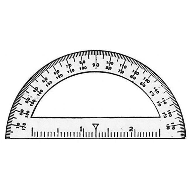Alvin 3751 Protractor 3 1-2 Inch Student