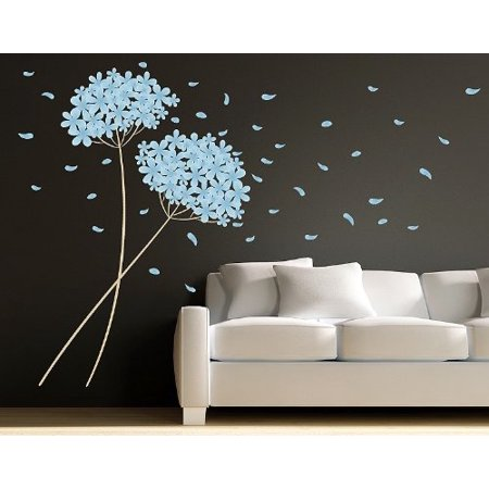 Blowball Leaves Wall Decal wall print decal sticker mural vinyl art ho