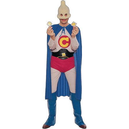 Adult Captain Condom Costume - Size Up to 42