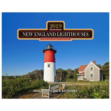 Pt Lighthouse - 2019 Lighthouses of New England Wall Calendar, by Mahoney Publishing