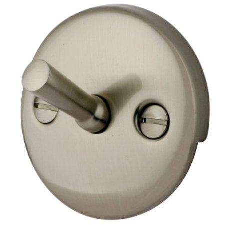 kingston brass dtl108 overflow plate for trip lever drain, brushed nickel Brushed Nickel Trip Lever