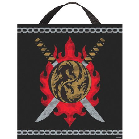 Ninja Deluxe Halloween Treat Loot Party Tote Bag 15