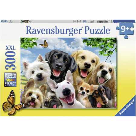 Ravensburger Delighted Dogs 300 Piece (Ravensburger Puzzle Glue)
