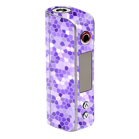 Skin Decal Wrap for Sigelei Spark 90W TC mod sticker vape Stained Glass