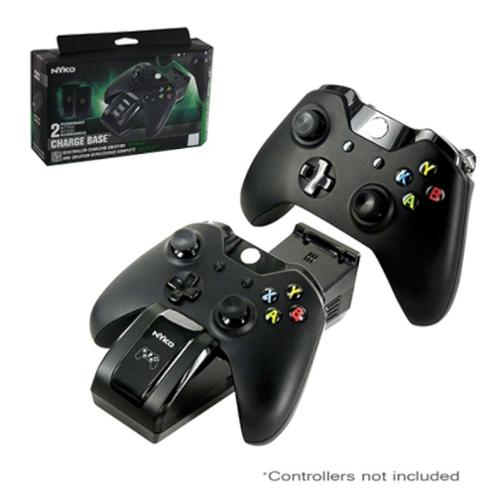 Nyko Dual Charger Charge Base For Microsoft Xbox One Controller, Black