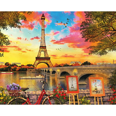 Paris Sunset 1000 Piece Jigsaw - Puzzle Piece Heart