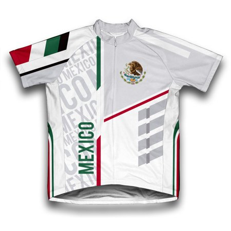 Mexico ScudoPro Short Sleeve Cycling Jersey  for Men - Size -