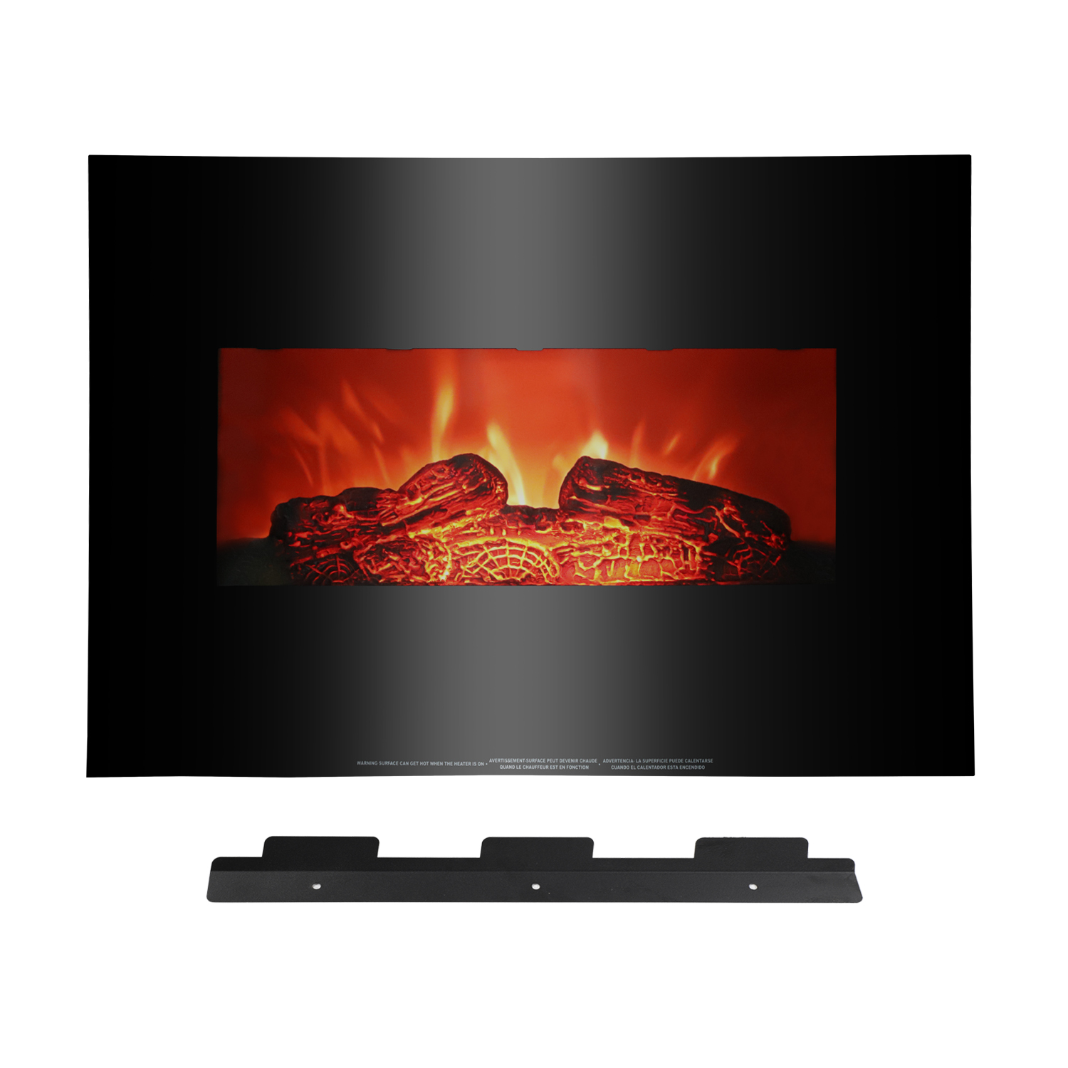 Ktaxon Electric Fireplace,Electric Fireplace Heater for Home,1400W Flame Electric Fireplace