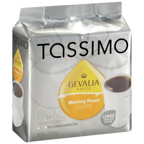 Tassimo Gevalia Kaffe Morning Roast Coffee, 4.3 oz
