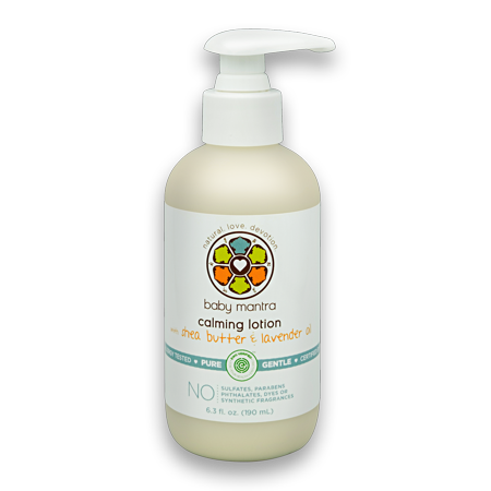 Baby Mantra Calming Lotion With Shea Butter Amp Lavender Oil