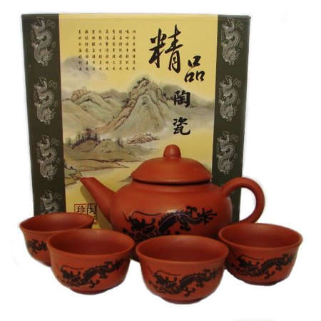 Chinese Traditional Tea Set-dragon picture (Best China Tea Sets)