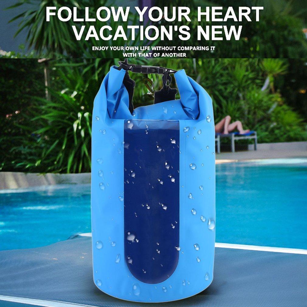 Waterproof Dry Bag Roll Top Survival Sack Kit Dry Gear Bag Camping Equipment by
