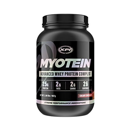 Myotein Protein Powder (Creamy Chocolate, 2lbs) - Best Whey Protein Powder Complex - Great Tasting (Best Tasting Protein Balls)
