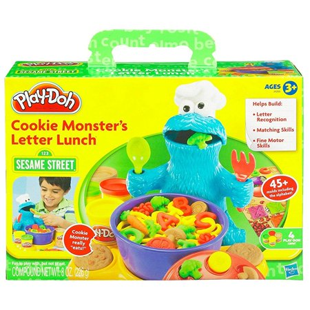 play doh cookie monster letter lunch   Walmart.com