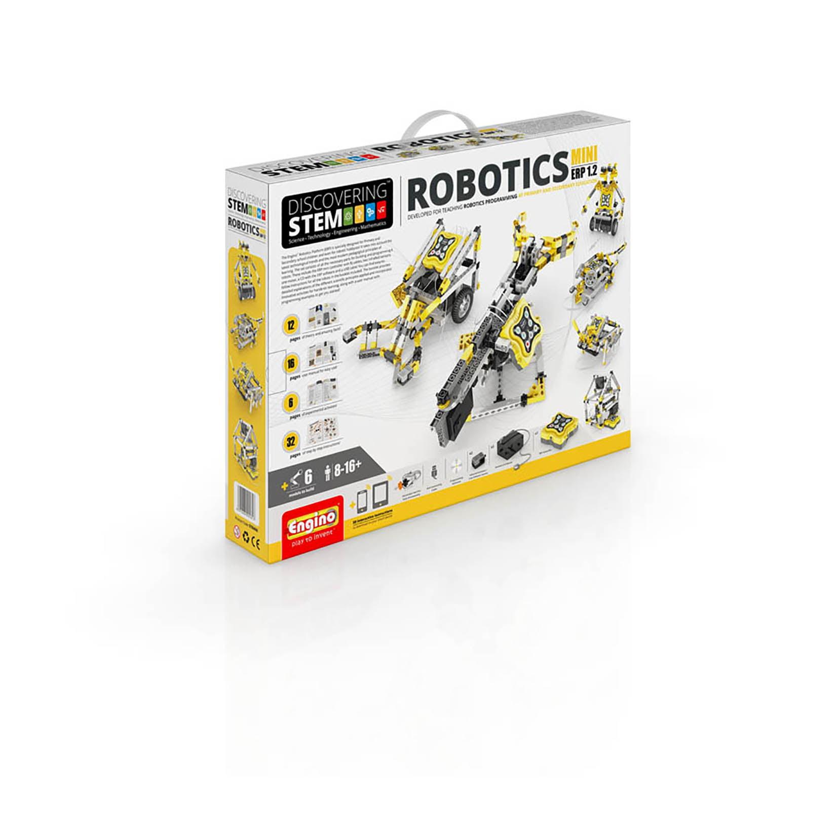 Engino S.T.E.M. Robotics ERP Mini Building Model Kit by Engino