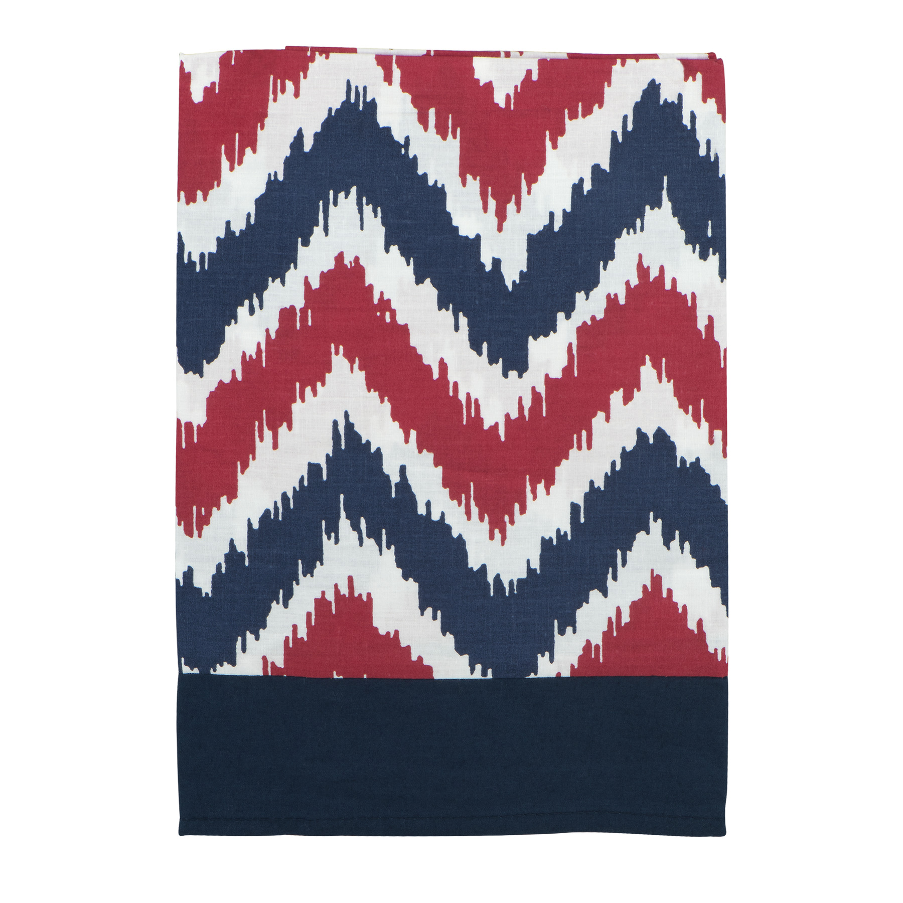 Bacati Window Valance Blue/Red Mix N Match, 1.0 CT