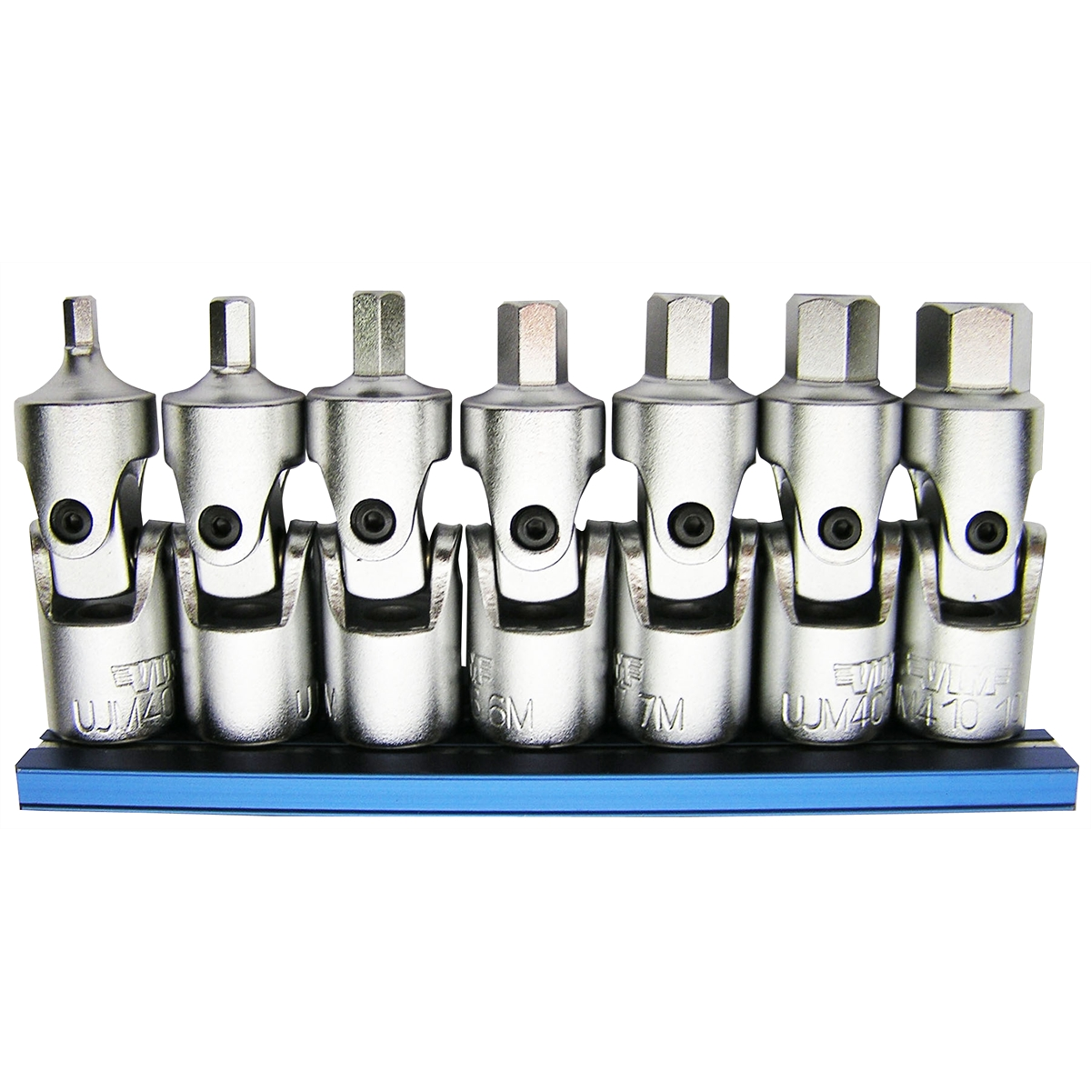 7Pc. Universal Joint Metric Hex Dr. Set 3mm-10mm