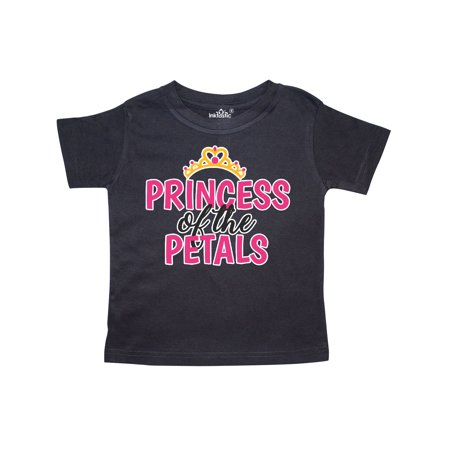 Princess of The Petals with Crown Toddler T-Shirt