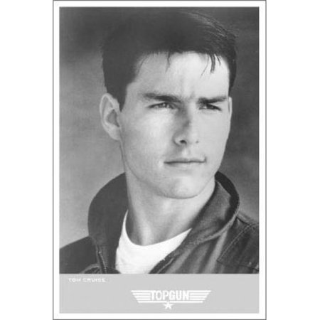 Poster Import XPSBL4039 Top Gun Tom Cruise Portrait Poster Print, 24 x 36 - image 1 of 1