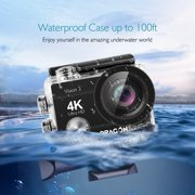 Dragon Touch 4K Action Camera 16MP Vision 3 Underwater Waterproof Camera 170° Wide - Best Reviews Guide