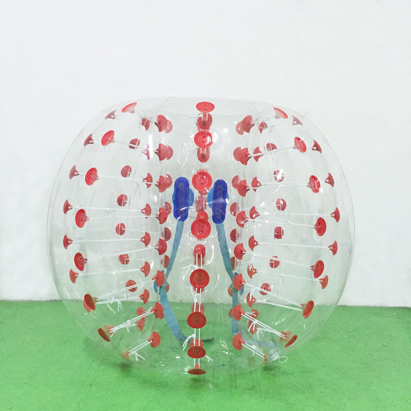 iMeshbean New 1.2M Body Inflatable Bumper Football Zorb Ball Human Bubble Soccer 4ft by