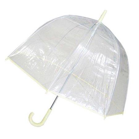 Conch Umbrellas 1265A Bubble Clear Umbrella, Dome Shape Clear Umbrella