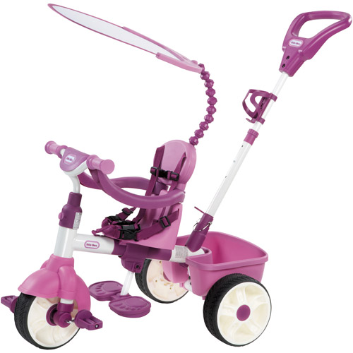 Little Tikes 4-in-1 Basic Edition Trike, Pink